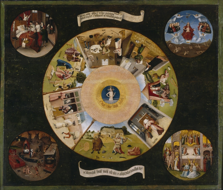 Bosch The Seven Deadly Sins and the Last Four Things