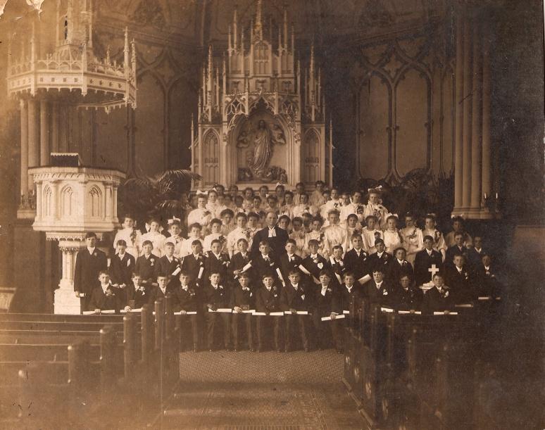 Saint Jacobi Lutheran Church Confirmation Class 1908