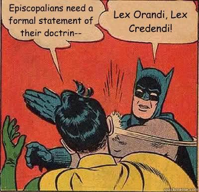 Lex Orandi Batman