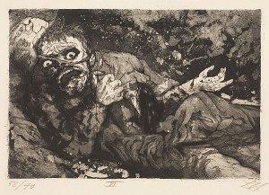 Otto Dix, Verwundeter-Herbst 1916, Bapaume