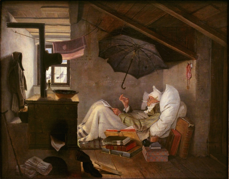 The Poor Poet Carl Spitzweg 1839
