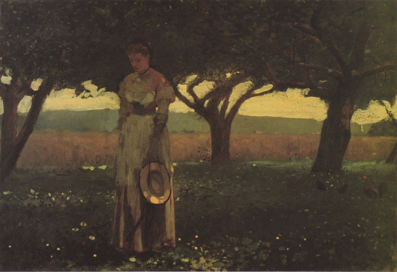 Winslow Homer, Girl in the Orchardjpg