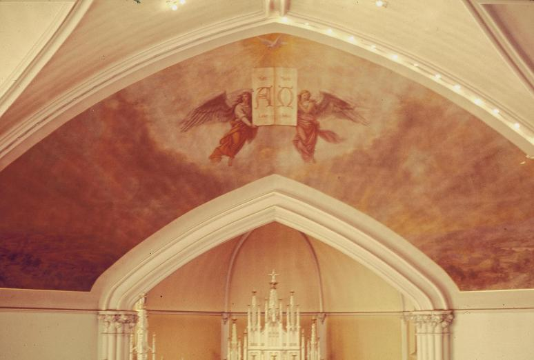 St Jacobi Church Ceiling Angels 1977