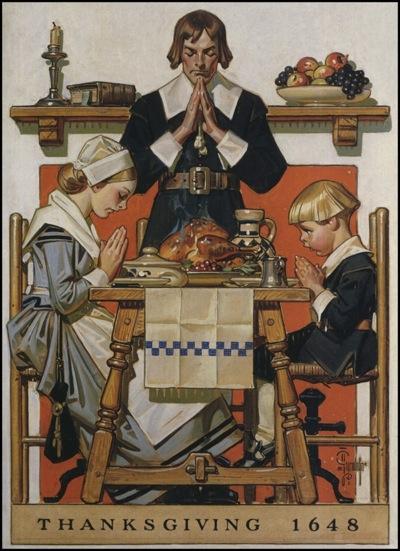 Leyendecker Thanksgiving