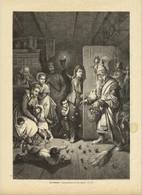 Nikolaus at the Door