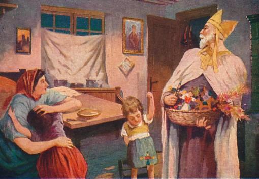 Nikolaus with Toys